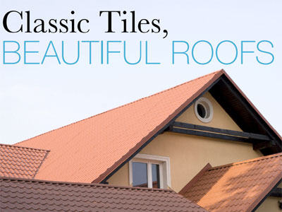 Classic Tiles, Beautiful Roofs by Phil Spencer